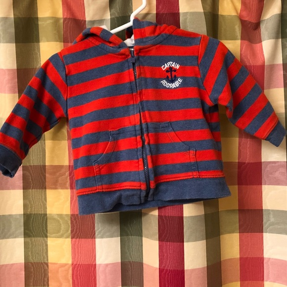 Carter's Other - 9 month Carter's Just One You zip up sweatshirt